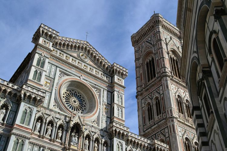 Low Angle View Of Duomo Santa Maria Del Fiore Against Sky