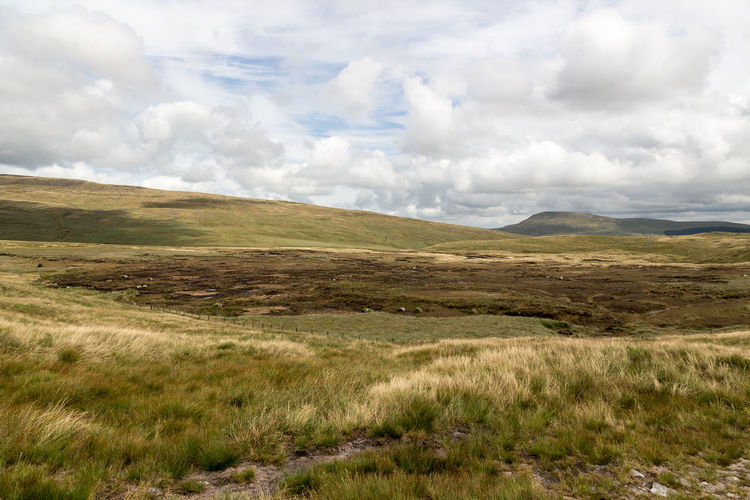 Brecon Beacons Fan Gyhirych Wales Barren Beauty In Nature Cloud - Sky Countryside Day Grass Landscape Mountain Nature No People Outdoors Peat Bog Remote Scenery Scenics Sky Wild