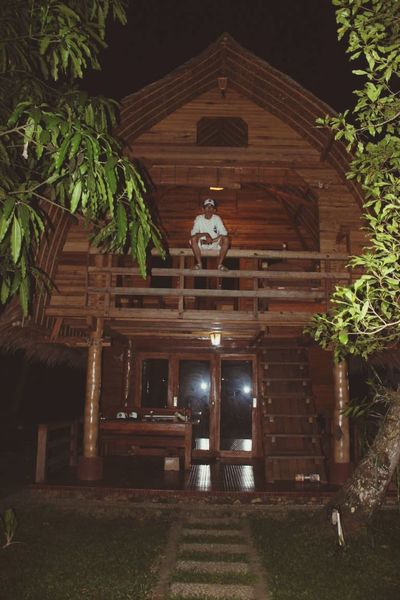 Nature On Your Doorstep Traditional House Hometree My House Aferrygunawan INDONESIA BeachHouse Rock'n'Roll