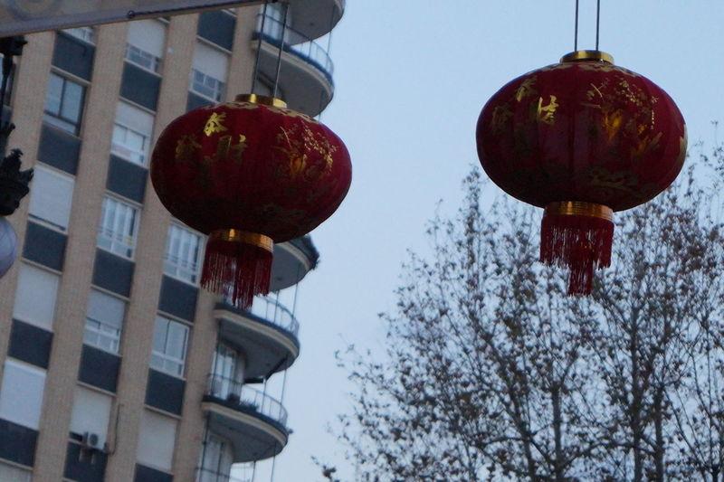 China Chinese Chinese Art Chinese Culture Chinese New Year Day Exterior Farolillo Chino