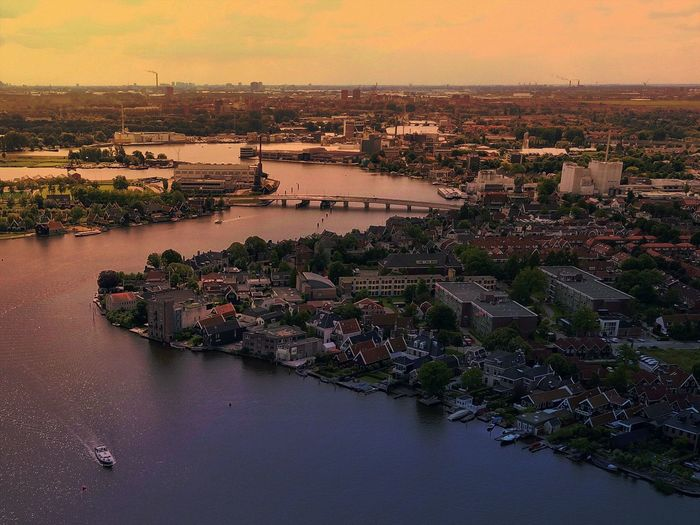 Looking Down 10/1000 Sunset River Water Architecture Built Structure Building Exterior Sky Outdoors No People City Nature Cityscape Travel Destinations Nautical Vessel Day Beauty In Nature Drone  Aerial Shot EyeEm Selects Urbanphotography Streetphotography Urban Aerial View High Angle View Skyscraper
