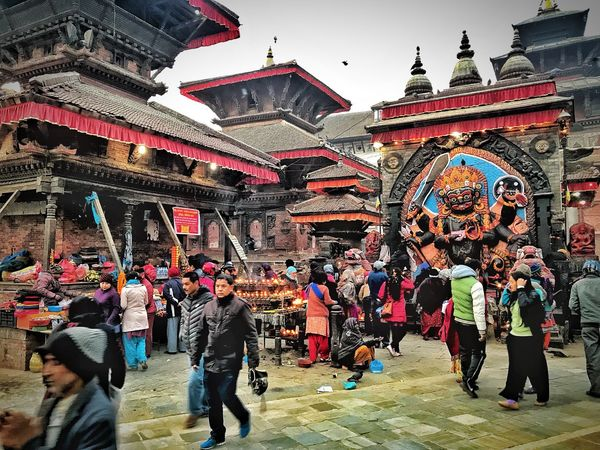 Holy place of Hinduism in Kathmandu Crowded Place Crowded Street Crowd Of People Street Photography Nepalese Culture Hinduisme Hinduism Holy Place Architecture Building Exterior Large Group Of People Built Structure Men Real People Travel Destinations Outdoors City Multi Colored Adult People Day