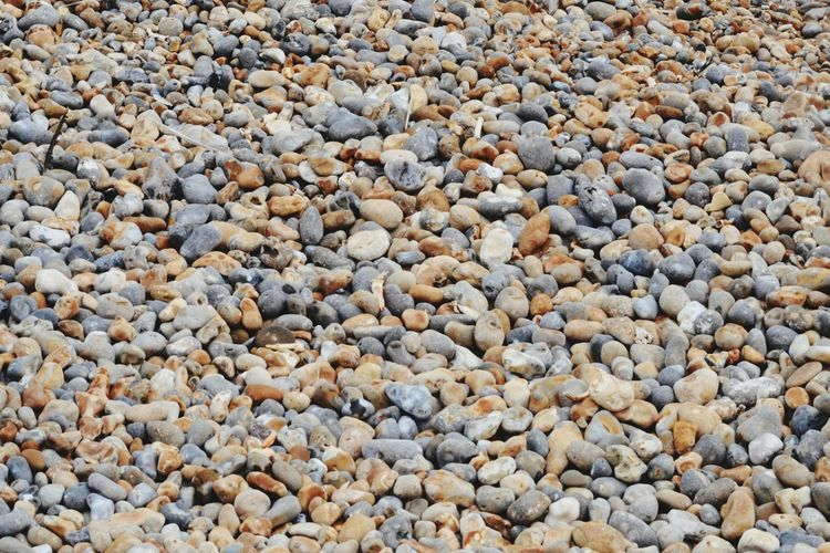 EyeEm Selects Pebble Full Frame Backgrounds Beach Day Nature Outdoors Pebble Beach No People Close-up Hastings Promenade