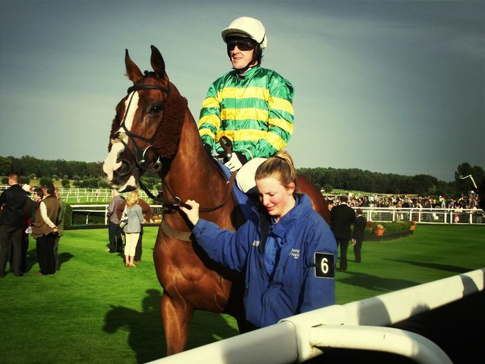 Horserace Horses Jockey