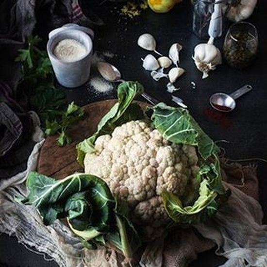 Winter Cauliflower Vegetables VEGANLIFE Roasting Vegan Darkfood Foodphotography Foodstyling Foodstagram Foodshare