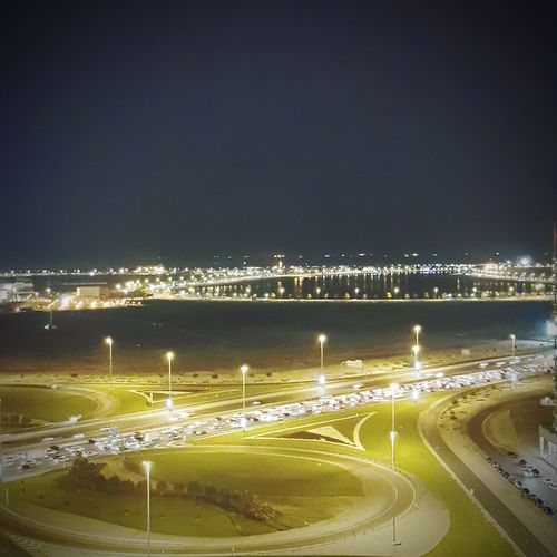 Dubai Dubaicity Mamzarbeach Mamzar Corniche Nightlights Night Nightphotography