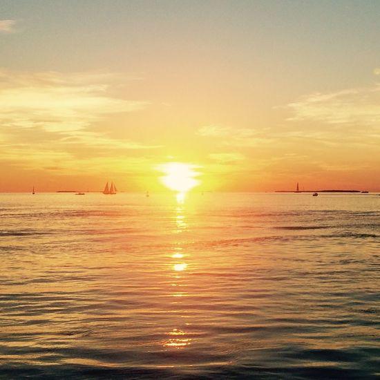 Key West Sunset Florida Mallory Square Sunset Celebration Skyporn Conchfused