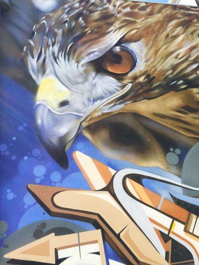 Photographic Approximation Streetart/graffiti Stare Back At You... Chasing art around...