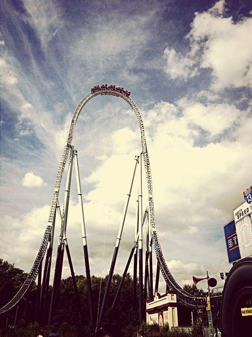 Stealth Thorpe Park Roller Coaster