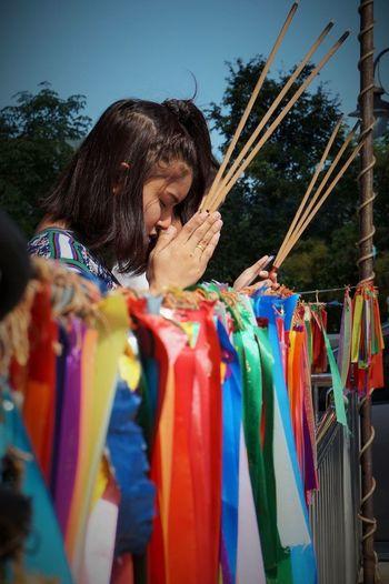 Malaysia Pulau Penang Kek Lok Si Chinese Temple Prayer
