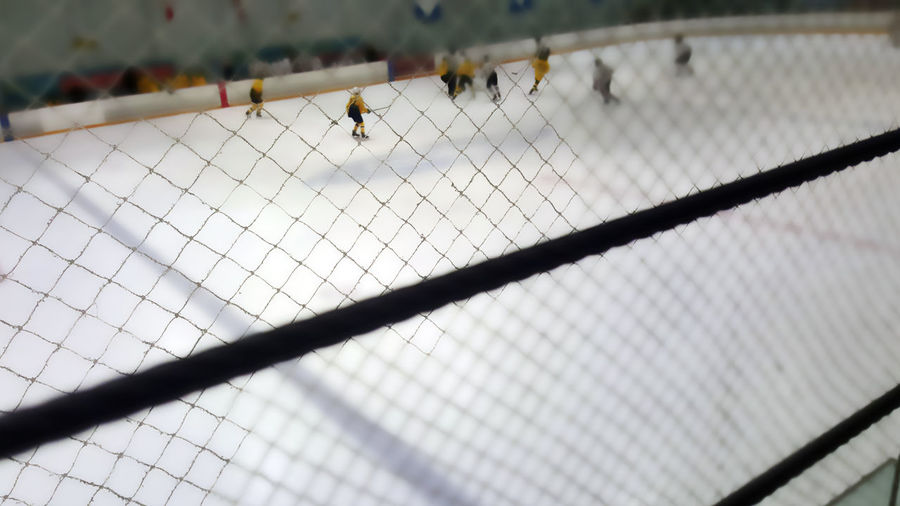 Applied Filter Best Game In The World Hockey Game Ice Hockey My Amazing Son Referrees Thematic Presenation Valencia California White Jerseys Yellow Jerseys