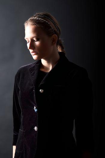Studio session for the designer Lucia Ferdinandi at ALESSANDROMICHELAZZI studio Fashion Fashion Photography Fashionable Light And Shadow Lighting Equipment Model One Woman Only Portrait Portrait Of A Woman Studio Studio Photography Studio Shot