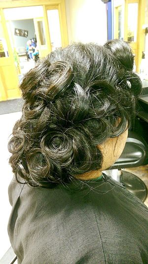Updo of the day