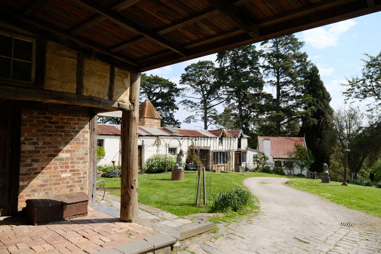 Shot at Montsalvat, Eltham. Architecture Building Exterior Built Structure Day House Nature No People Outdoors Sky Tree