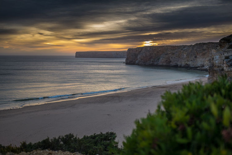 Sunset Sand Dune Waves Vacations Holiday No People Water Beach Summer Outdoors Sunny Paradise X100S Beauty In Nature Algarve Portugal Sky Sand Scenics Landscape Nature Horizon Over Water Ocean Rocks Daydream My Best Travel Photo