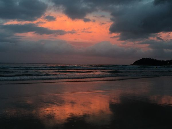 Manly Beach Sunset_collection Beauty In Nature No Edit/no Filter Coast Pink Sky EyeEm Nature Lover