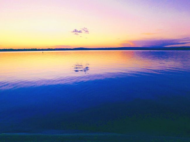 Beautiful Sunset. How are you all? ❤Bliss❤ Purple Sky Perfection❤❤❤ Lake Macquarie Australian Landscape Sunset_collection Reflections In The Water Cloud Reflections... Australian Sunset Australian Sunsets From My Point Of View Love My Life ❤