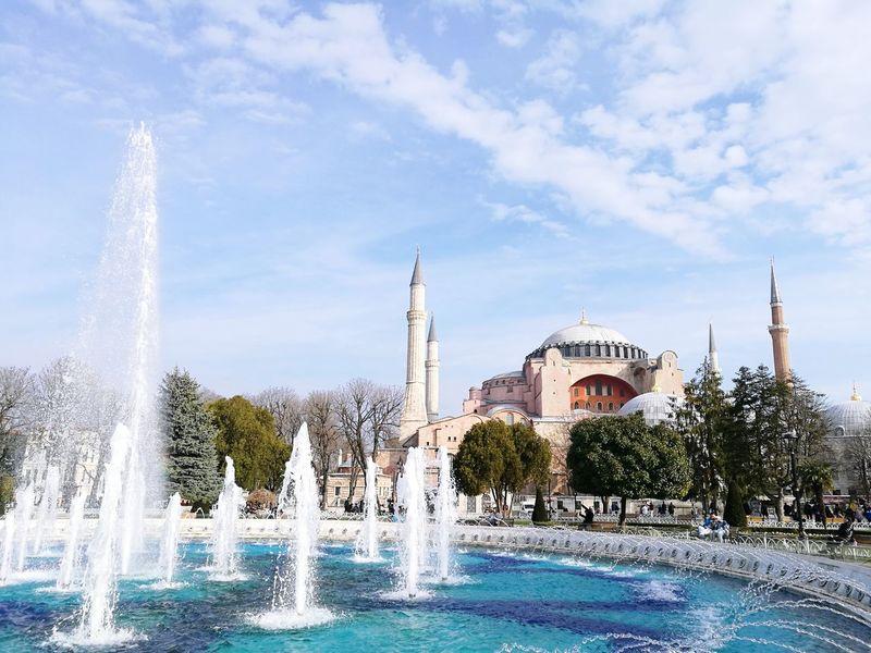 ISTANBUL 💓 Istanbul City Fuentes Fontain Place Turkey Türkiye Love Landscape