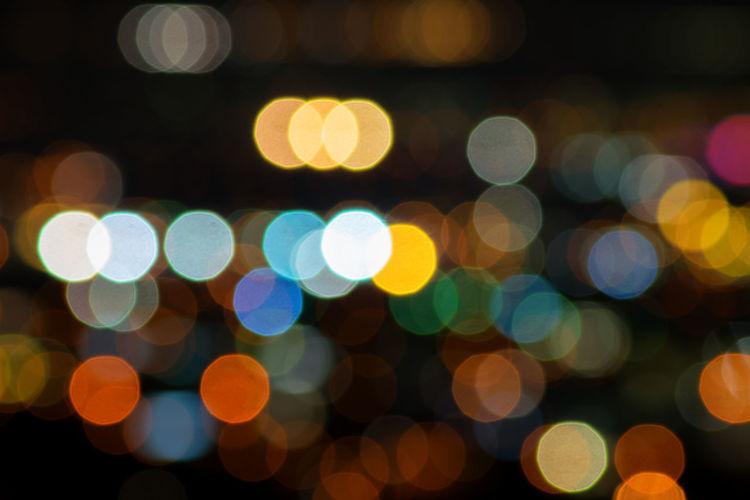 Backgrounds Bokeh Bokeheffect Decoration Defocused Ethereal Light Bulb Light Effect Lighting Equipment Multi Colored Night Pattern Spotted Street Light
