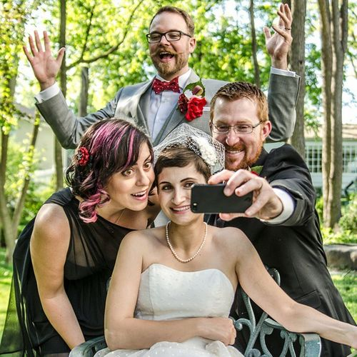 Offbeatbride Thedrshouse Bride Groom CanadianCreatives Ygk Toronto Summer 2015weddings Summerwedding Wedding Justmarried