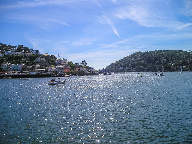 Looking towards Kingswear form Dartmouth in South Devon, UK Architecture Beauty In Nature Building Exterior Built Structure Cloud - Sky Dartmouth Day Harbor Kingswear Mast Nature Nautical Vessel No People Outdoors Rippled Sailboat Scenics Sea Sky Tranquil Scene Tranquility Transportation Travel Destinations Water Waterfront