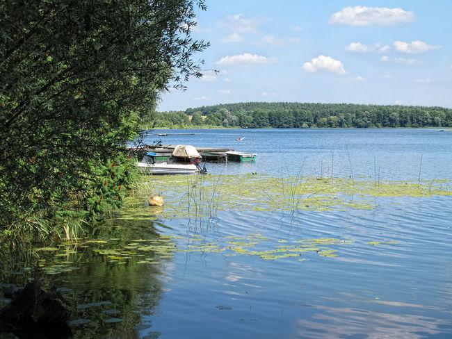 Lake of Lychen (Brandenburg, Germany) Brandenburg Day Germany Lake Landscape Lychen Nautical Vessel No People Outdoors Plant Reflection Tranquil Scene Tree Water Waterfront