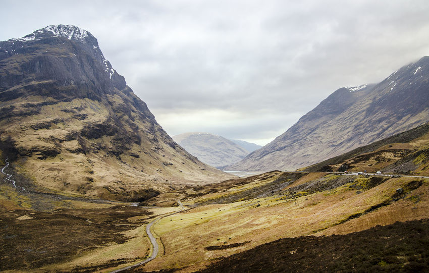 Beautiful Glen Coe, Scotland Beauty In Nature Cloud - Sky Cultures Day Glen Coe Glencoe Glencoe Mountain Resort Highland Highlands Landscape Mountain Mountain Range Nature No People Outdoors Road Scenics Scotland Scottish Highlands Sky Tranquility Travel Travel Destinations Vacations Winding Road