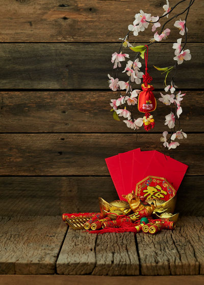 2019-2020 Wood Wooden Table Chinese Year New Background Red Festival Space Lunar Decoration Celebration Culture Asian  China Oriental Spring Food Traditional Gold Flower Blossom Holiday Prosperity ASIA Greeting Copy Lay Flat Plum Ornament Tradition Celebrate Fortune Packet Symbol Festive Happy Luck Envelope Good Pig Japanese  Happiness Rat Minimal Background Poster Wood - Material Flowering Plant Plant Freshness No People Still Life Nature Fragility Vulnerability  Close-up Indoors  Beauty In Nature Food And Drink Creativity Petal Flower Head