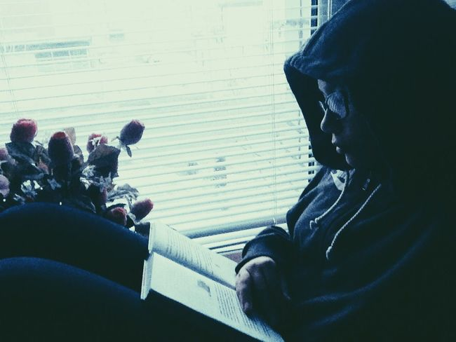 Enjoying Life That's Me I love reading books Relaxing