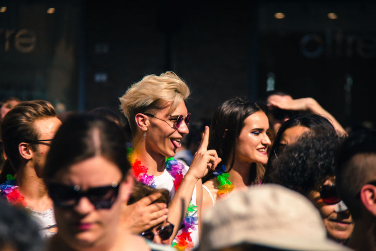 Gay Pride in Reggio Emilia ( 3rd June 2017 ) to protest against Xenophobia, Homophobia and for Gay Marriage and rights Celebration Crowd Fun Gay Pride Large Group Of People Real People The Photojournalist - 2017 EyeEm Awards The Portraitist - 2017 EyeEm Awards The Street Photographer - 2017 EyeEm Awards Togetherness