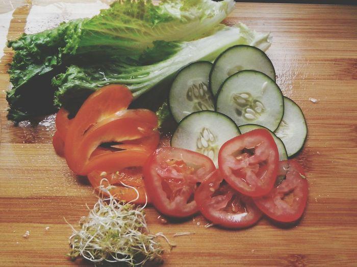 Good Morning Breakfast Healthy Food GREEN IS GOOD Feeling Good Enjoyin Life Relax Fresh Food