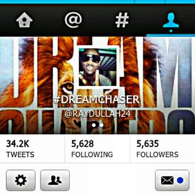 Y'all follow me on Twitter @RAYDULLAH24 TeamFollowBack Mustfollow DreamChaser