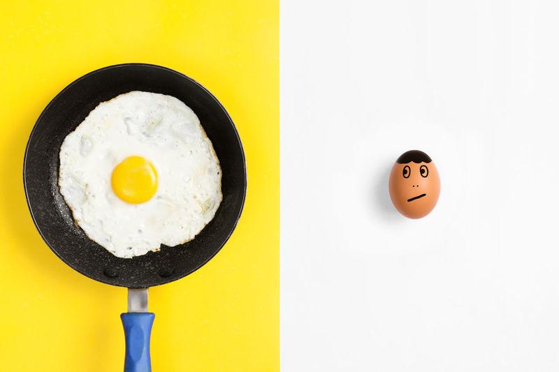 Fried egg in