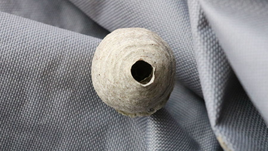 Duct Tape Textured  Textile Toilet Paper Protection Rolled Up Hole Close-up