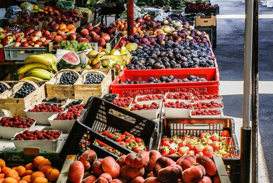 Taste Of Poland Fruit Abundance Large Group Of Objects For Sale Retail  Food And Drink Food Choice Variation Freshness Market Market Stall Healthy Eating Day Collection Price Tag Arrangement Outdoors No People Store EyeEm Selects EyeEmNewHere Mix Yourself A Good Time Your Ticket To Europe The Week On EyeEm