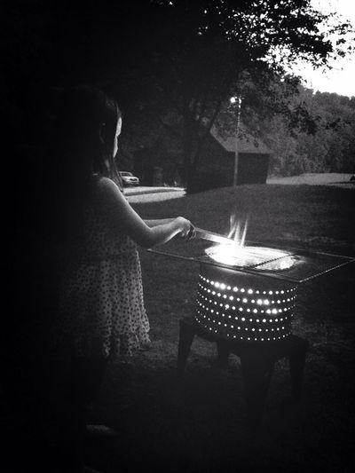 Fire Summer Kentucky  My Niece
