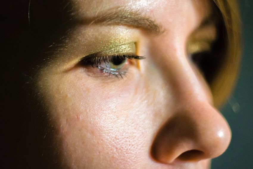 Close-up Day Human Eye Indoors  One Person People Young Adult Young Woman