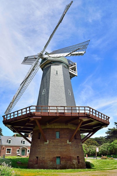 Murphy Windmill @ Golden Gate Park 3 San Francisco CA🇺🇸 South Windmill Built 1908 Murphy Windmill 75 Ft Tall 114 Ft. Sails Western Edge Golden Gate Park Landscape Landscape_Collection Landscape_photography 40,000 Gallons Per Hour Irrigated The Park 1913 Replaced By Electric Pumps Fell Into Disrepair Restored 2009 Millwright's Cottage Buit 1909
