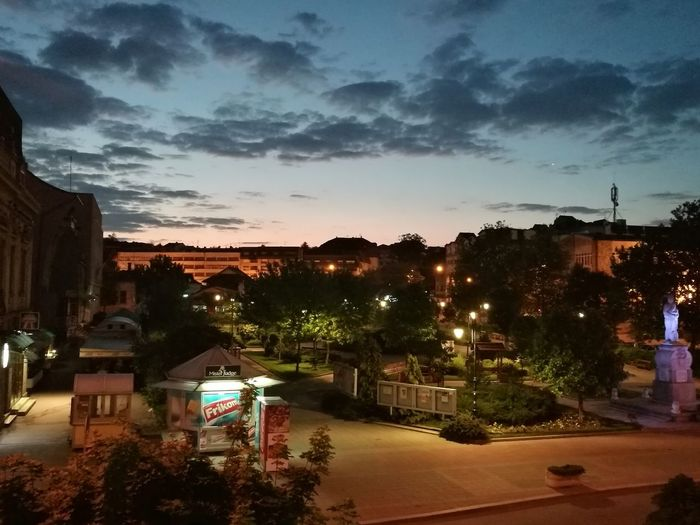 Late Night Early Morning Cıty My Lovely View Serbia