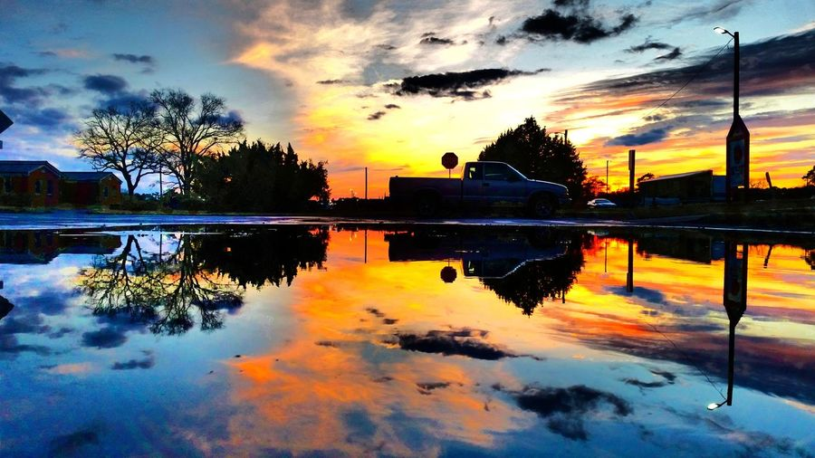Refection of the Sky Smartphone Photos Colors Of Life Sky Water Reflection