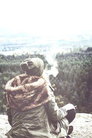 Love Cigarrete Girls Bosque