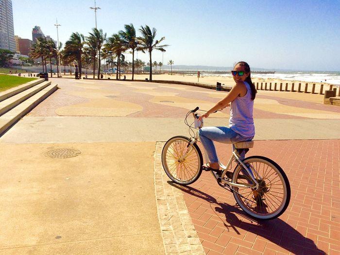Rolling rolling... Beach Bike Ride Durban Beachfront Wednesday Bike Ride