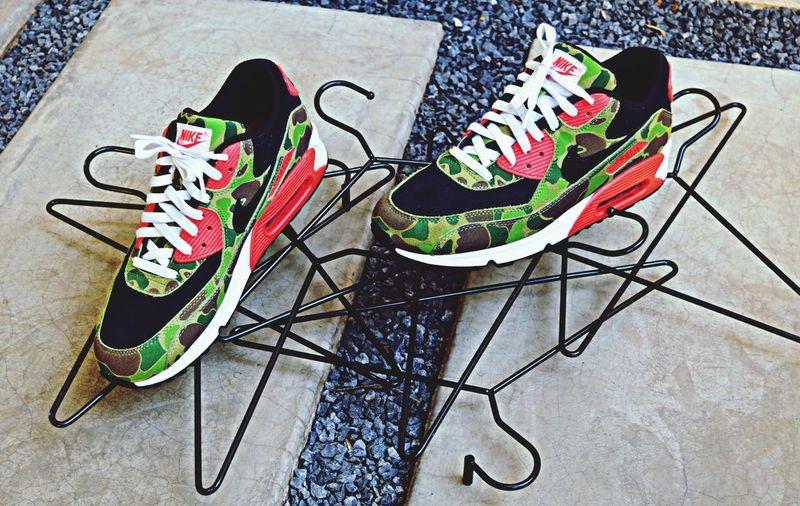 Nike Air max 90 Atmos Duck Camo ???! Nike Air Max Atmos Sneakers WDYWT