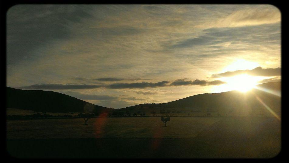 Sunset #sun #clouds #skylovers #sky #nature #beautifulinnature #naturalbeauty #photography #landscape Sunsetsunrise_photo Shadows & Lights Sky_collection