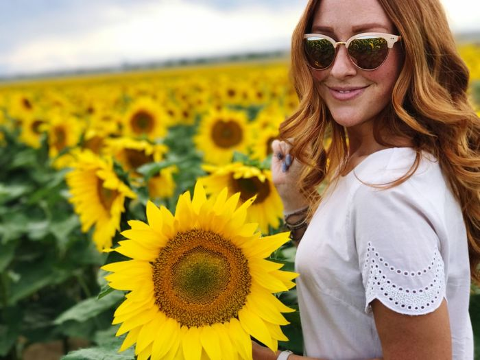self love is the best love Sunflower Field Flower Sunflower Nature Love Yourself Beauty In Nature Freshness