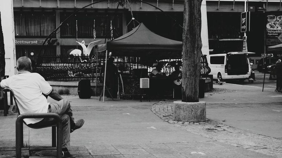 Sabah Malaysia Kota Kinabalu City Sabah Below The Wind Malaysia Photography 16-50mm Lens What I Saw Through The Lens Sony NEX A6000 Sabahan Photography New Generation Photographer Sony A6000 Kota Kinabalu Black And White Photography Black And White Collection