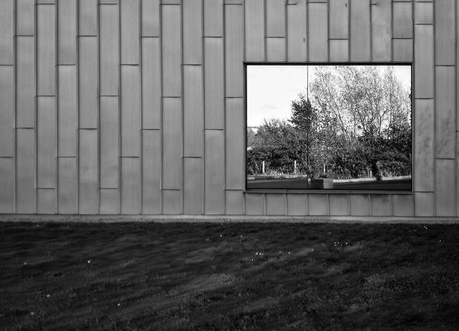 Day Outdoors No People Black And White Photography Reflection Built Structure Mirror Reflection
