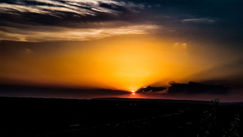 Sunset Sunset Yellow Backgrounds Sea Sun Astronomy Dramatic Sky Red Orange Color Sky Only Romantic Sky Atmospheric Mood Heaven Forked Lightning Stratosphere Meteorology Cumulonimbus Moody Sky Storm Cloud Galaxy Cloudscape Milky Way Overcast Fluffy Cumulus Infinity Cumulus Cloud Star Field Rushing