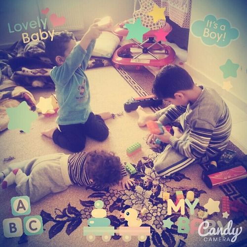 My Baby <3  Lovly Baby Boys Playing Funny
