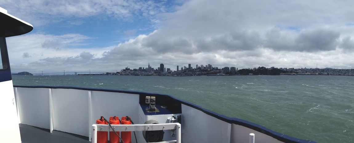 Goodbye San Francisco Cityscapes Bay Ship Skyline Seeing The Sights My Commute An Eye For Travel